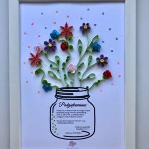 ramka-quilling-kwiaty